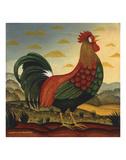 Rooster Posters by Diane Ulmer Pedersen