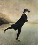 Reverend Walker Skating Poster by Sir Henry Raeburn