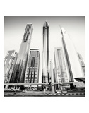Rockets, Dubai, UAE Print by Marcin Stawiarz