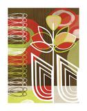 Poppy Motif Posters by Linda Ketelhut