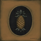 Pineapple 04 Prints by Barbara Jeffords