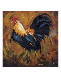 Rooster 502 Prints by  Roz