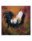 Rooster 503 Prints by  Roz