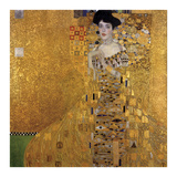 Portrait of Adele Bloch-Bauer I, 1907 Print by Gustav Klimt