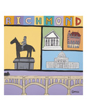 Richmond Print by Brian Nash