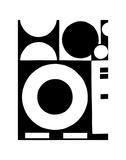 Formas circulares Pósters por Dominique Gaudin