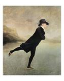Reverend Walker Skating Plakater af Sir Henry Raeburn
