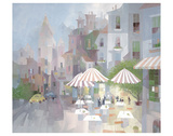 Place du Tertre Prints by Albert Swayhoover