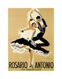 Rosario & Antonio, 1949 Posters af Paul Colin