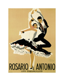 Rosario & Antonio, 1949 Poster von Paul Colin