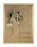 Rena May Et Gerardy Print by  Vintage Posters