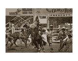 Rodeo Daze Poster by Barry Hart