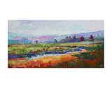 Rainbow Marsh Poster by Erin Hanson