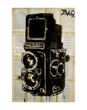 Rolleiplex Camera Poster by Loui Jover