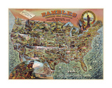 Rambles through our Country Posters by  Vintage Reproduction