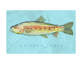 Rainbow Trout Print by John Golden
