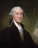 Portrait of George Washington, 1795 Prints by Gilbert Stuart