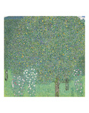 Rosebushes Under the Trees, ca. 1905 Print by Gustav Klimt