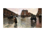 Rainy Day, Boston, 1885 Prints by Childe Hassam