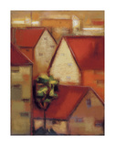 Rooftops I Art by Eric Balint