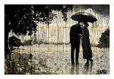 Rainy Day Rendezvous Print by Loui Jover