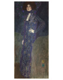 Portrait von Emilie Floege, 1902 Poster von Gustav Klimt