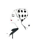Polka Dot Glam Affiches par Jessica Durrant