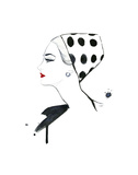 Polka Dot Glam Prints by Jessica Durrant