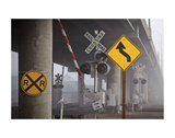Railroad Crossing Posters by David Lorenz Winston