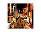 Shinjuku Neons, Tokyo Posters by Marcin Stawiarz