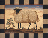Sheep Prints by Diane Ulmer Pedersen