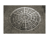 San Francisco Manhole Cover Prints by Christian Peacock