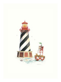 Seal Harbor Light Posters by Lisa Danielle