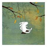 Something is in the Air Affischer av Kristiana Pärn