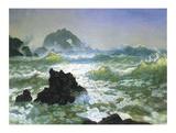 Seal Rock Art by Albert Bierstadt