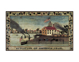 Situation of America, 1848 Prints by  Unknown Artist