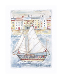Setting Sail Print by Jane Claire