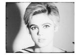 Screen Test: Edie Sedgwick [ST308], 1965 Plakaty autor Andy Warhol