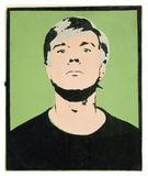 Self-Portrait, 1964 (on green) Poster by Andy Warhol