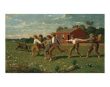 Snap the Whip, 1872 Prints by Winslow Homer