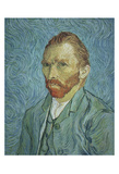 Self Portrait Posters by Vincent van Gogh