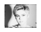 Screen Test: Edie Sedgwick [ST308], 1965 Art by Andy Warhol