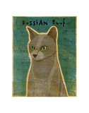 Russian Blue Prints by John W. Golden