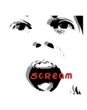 Scream Print by Edvard Munch