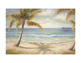 Shoreline Palms II Print by Marc Lucien