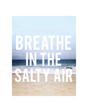 Salty Air Poster by Leah Flores