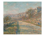 Road of La Roche Guyon, 1880 Art by Claude Monet