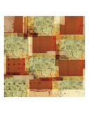 Rusty Pattern Prints by Carolina Pecora