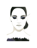 Smokey Eye Girl Posters by Jessica Durrant