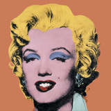 Marilyn - Orange, 1964 Affiches par Andy Warhol